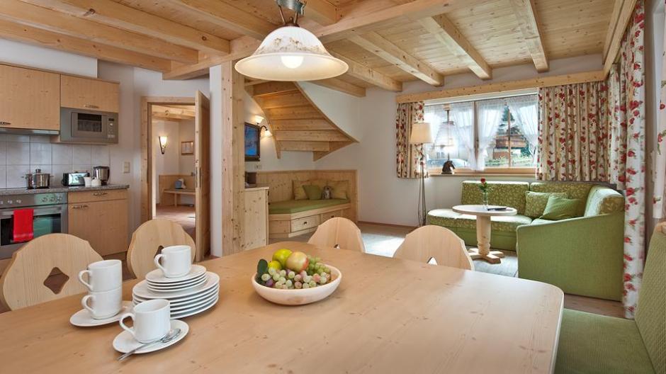 Interieur Alpenchalets Brugger (impressie)